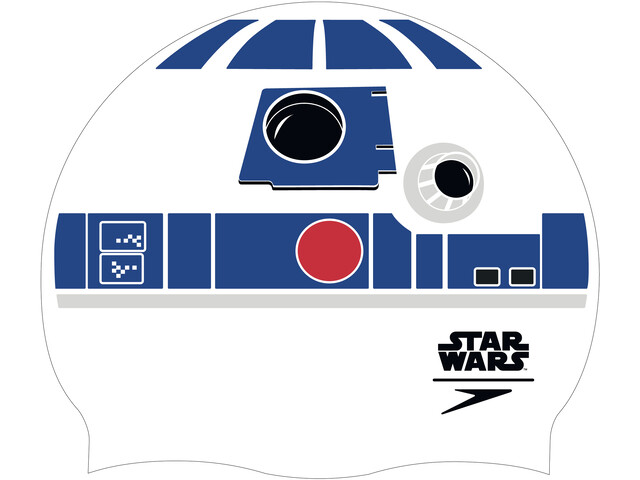 speedo Star Wars Slogan Print Gorra, white/blue